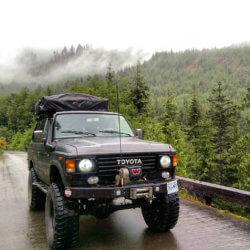 Canada Overland Toyota Land Cruiser BJ60
