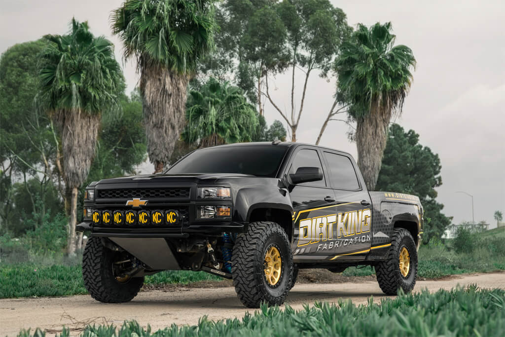 Chevy Silverado Prerunner pictures and specs