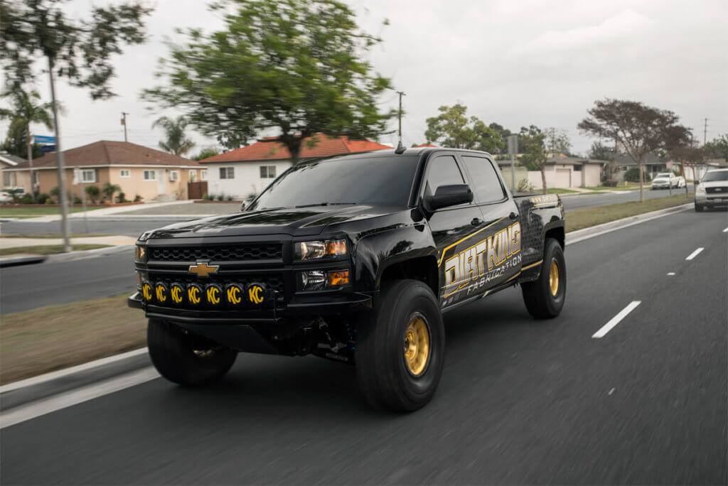 2015 Chevy Silverado Prerunner with Long travel Suspension kit
