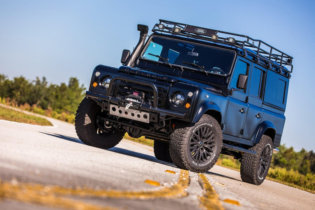 Land Rover Defender 110 with Offroad mods by ECD