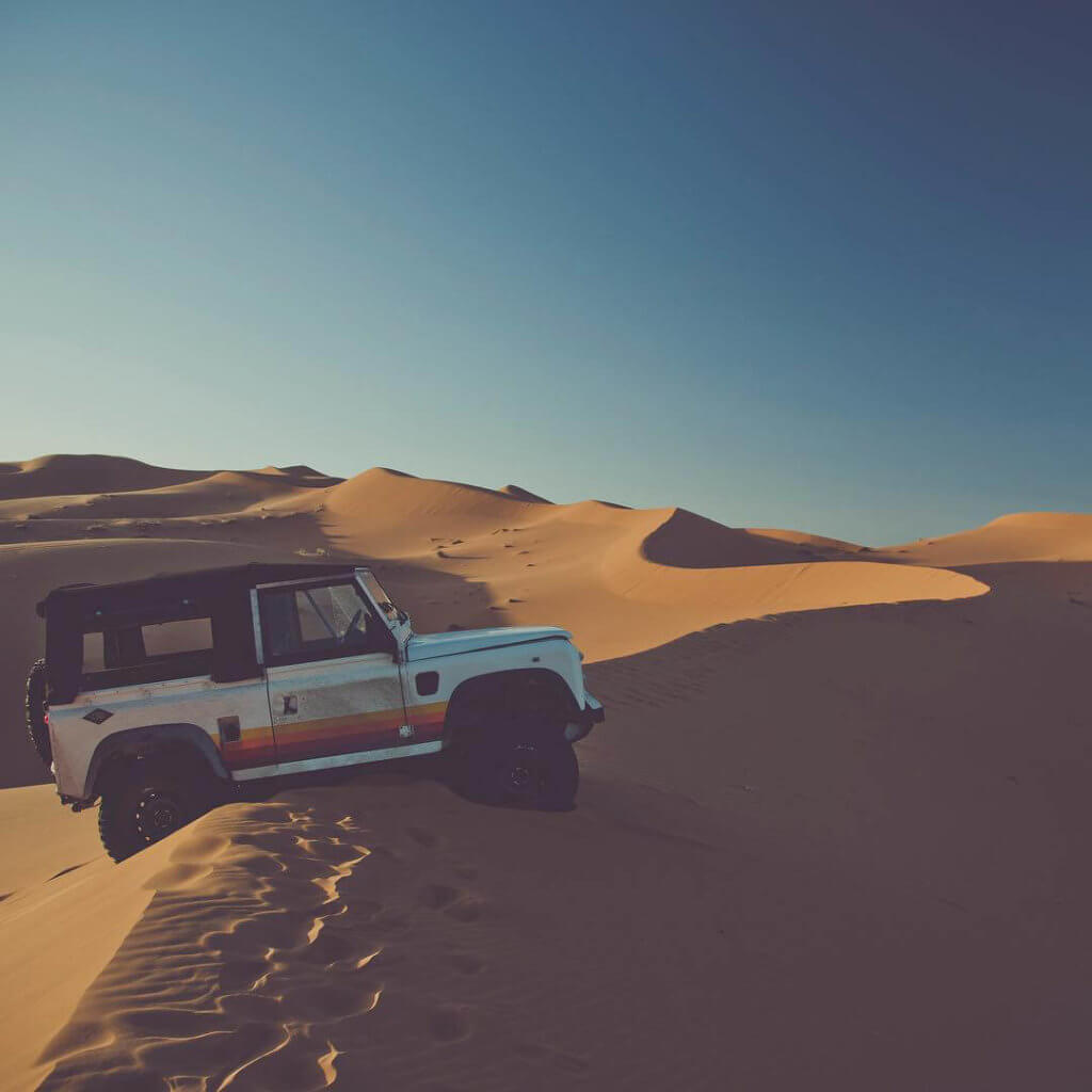 Offroading in the Dunes