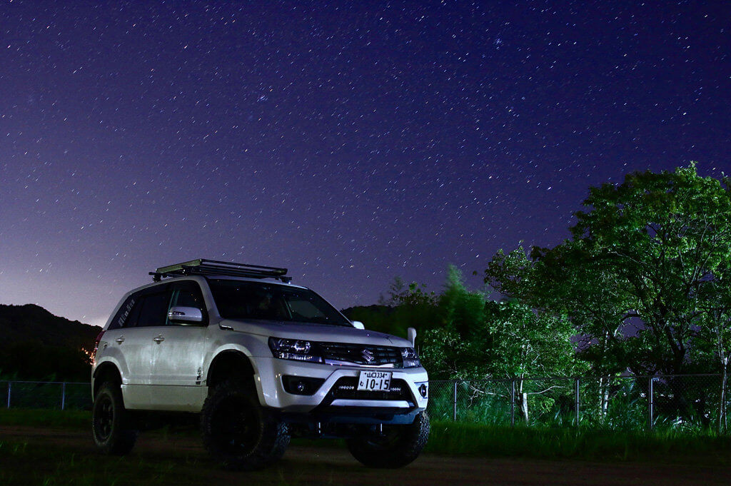 Suzuki Grand Vitara Offroad expedition