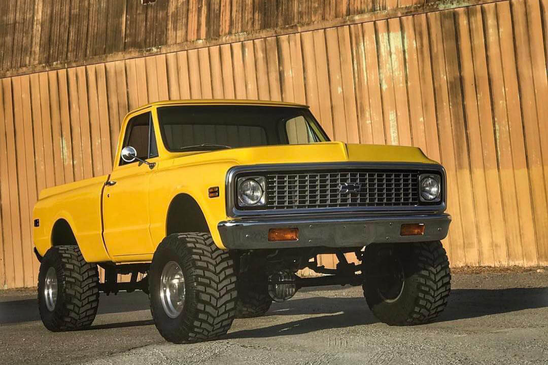 Chevy C10 4x4 truck