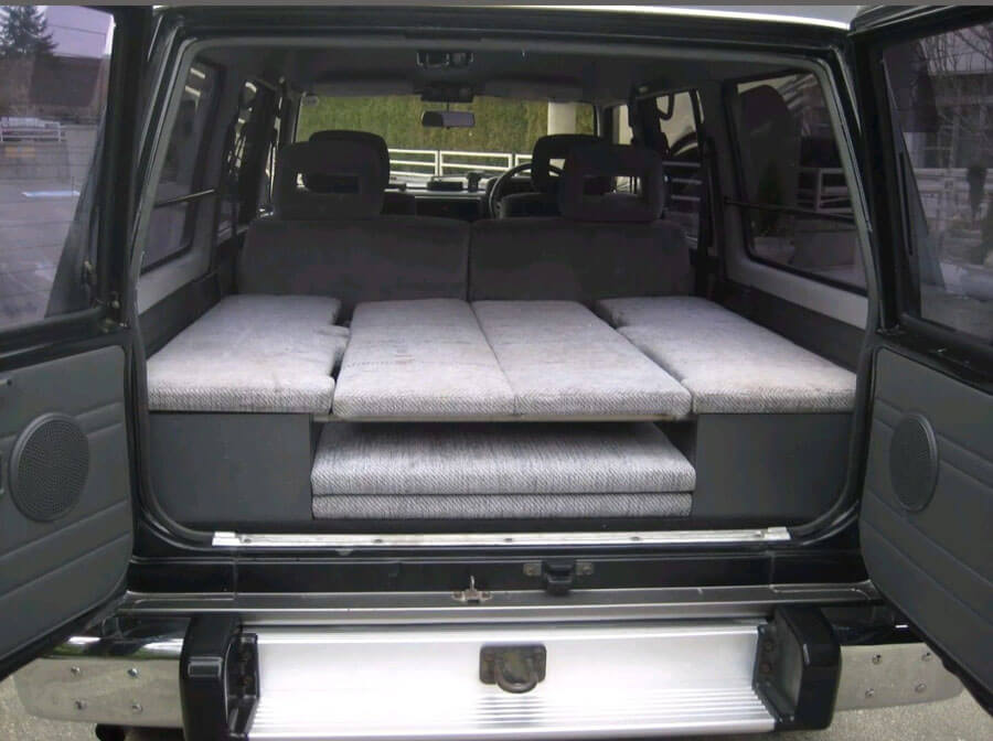 Nissan Patrol Cargo compartment with drawers