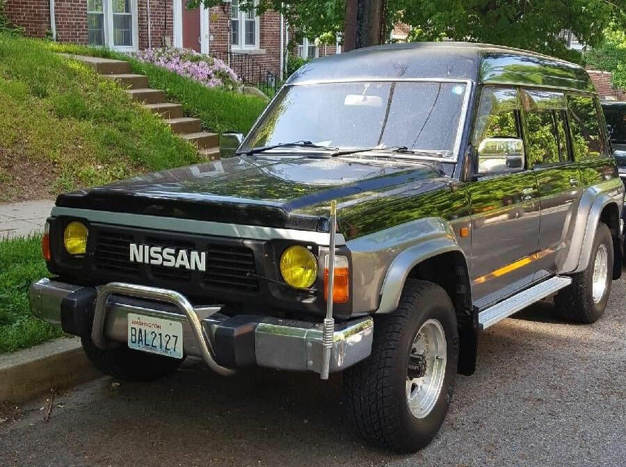 Nissan Patrol Y60 classic expedition vehicle