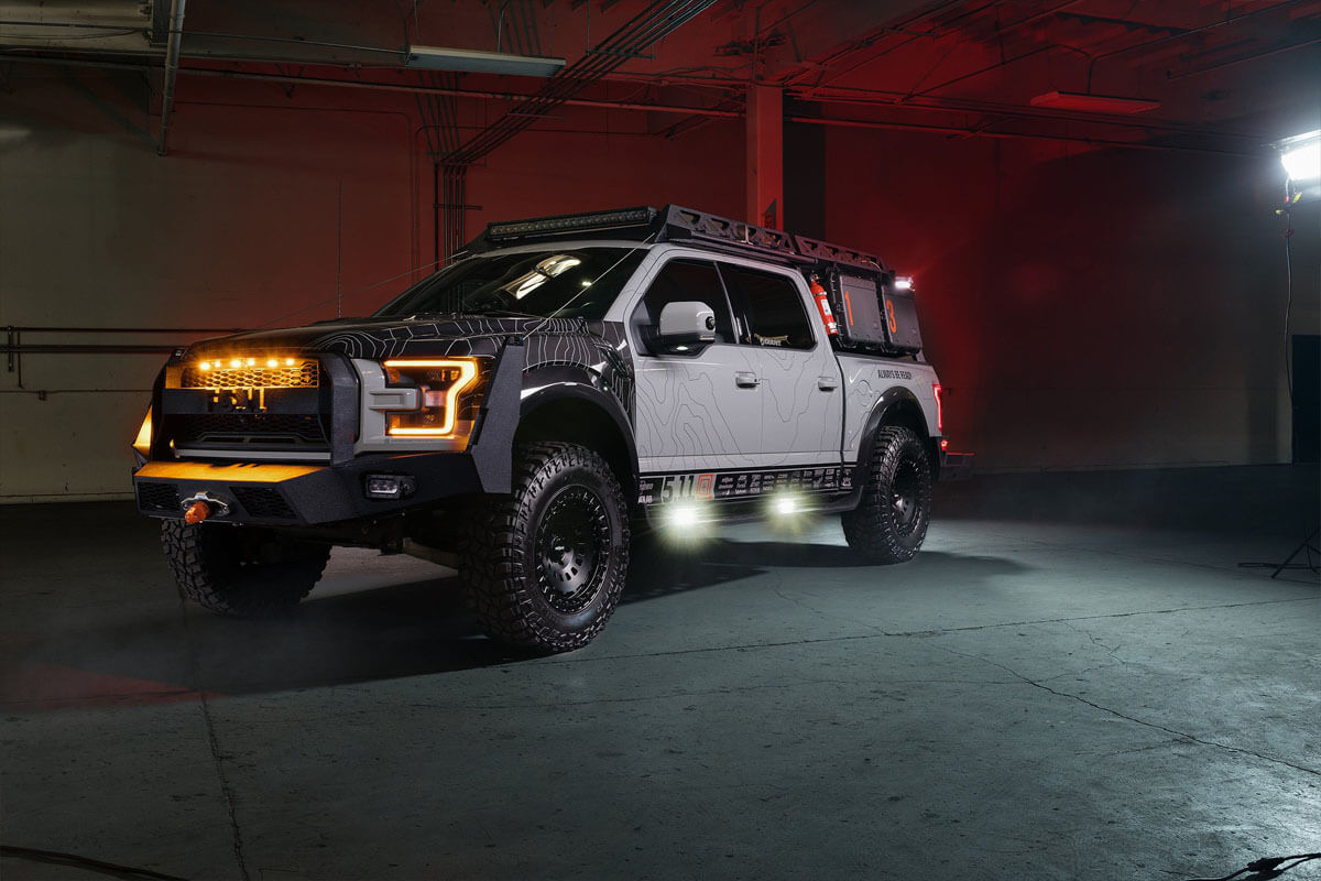 Ford F150 Raptor Overland Expedition Vehicle
