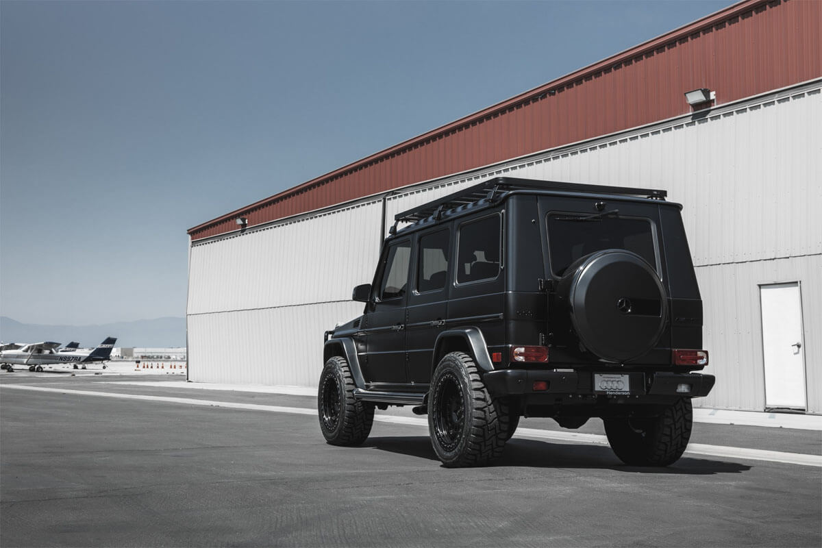 Mercedes G-Class Overland Expedition Roof Rack