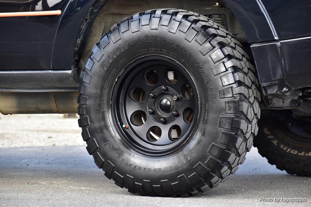 """Mitsubishi Pajero Wagon 33"""" offroad wheels"""