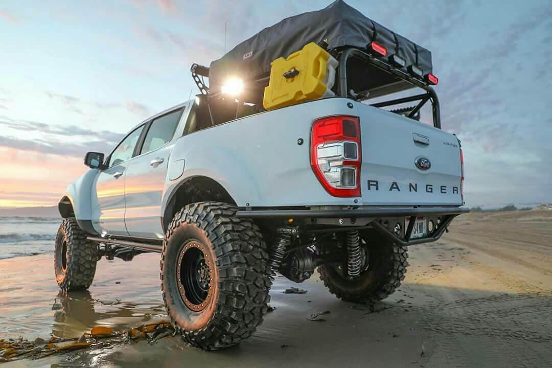 New 2019 Ford Raptor custom steel offroad bumpers