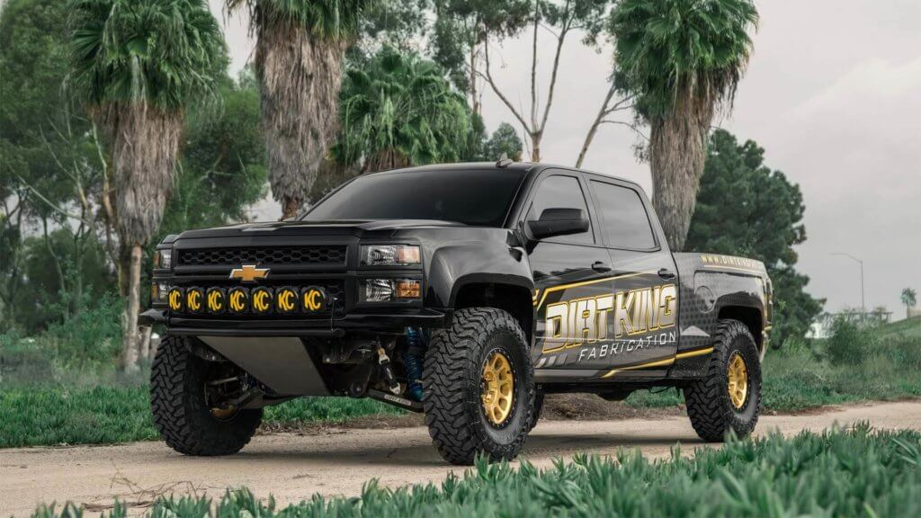 Chevy Silverado Prerunner by Dirtking fabrication