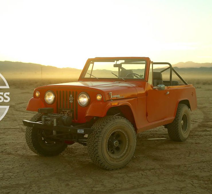 1968 Jeepster Commando with offroad wheels