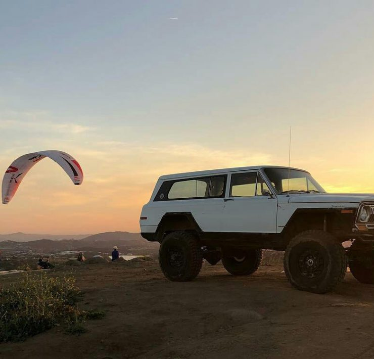 1978 Jeep Cherokee Chief with offroad modifications