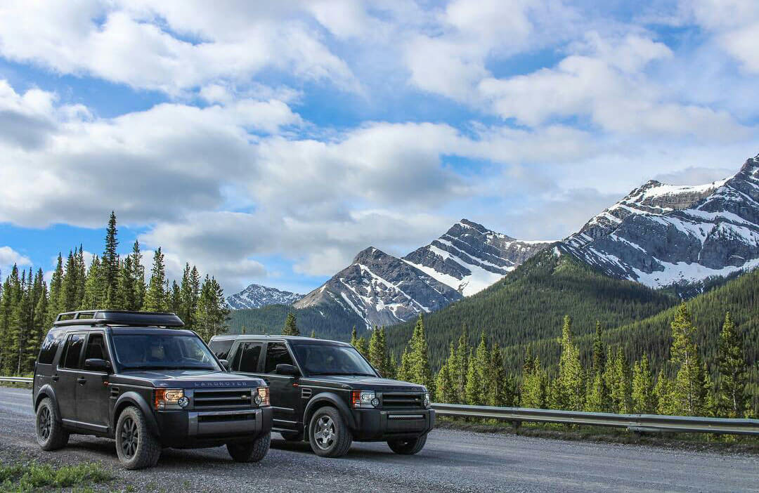 2006 and 2007 Land Rover LR3 overland expedition