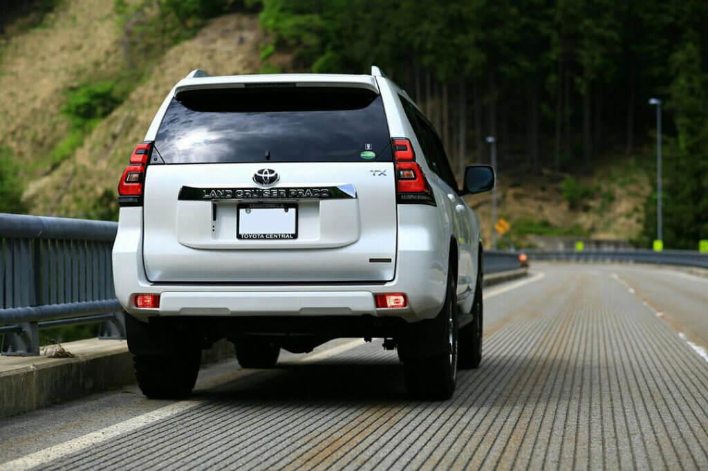 2018 Facelifted Toyota Prado 150