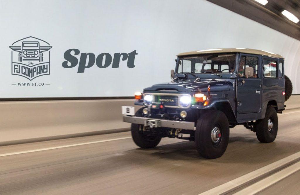 FJ company sport Toyota FJ40