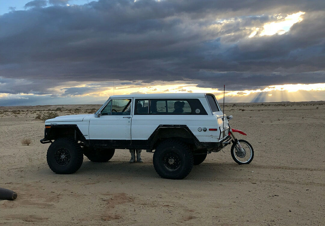 Vintage 1978 Jeep Cherokee Chief With Off Road Modifications