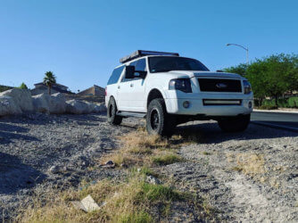 Ford Expedition 33 inch tires