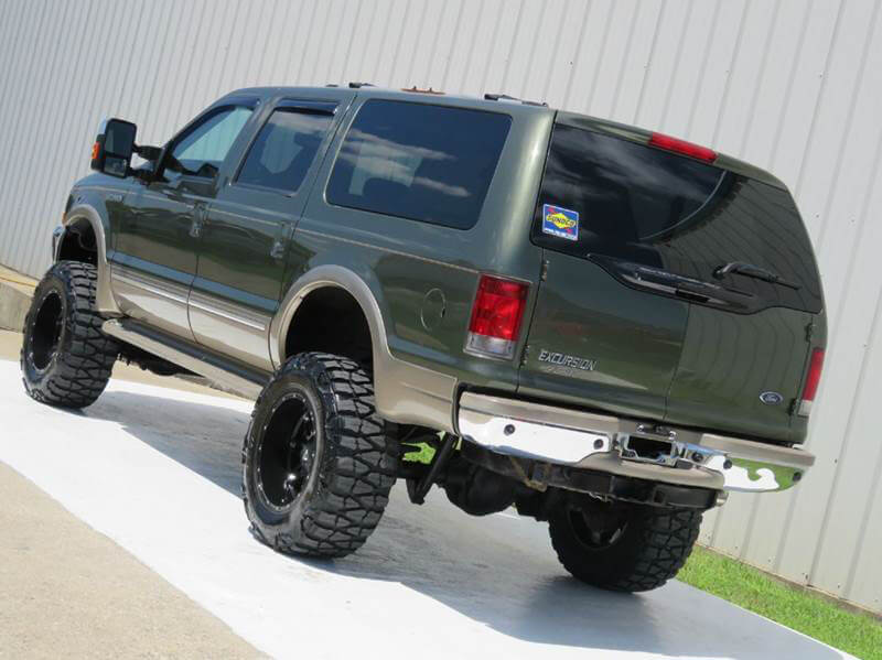 Clean Lifted Ford Excursion offroad truck