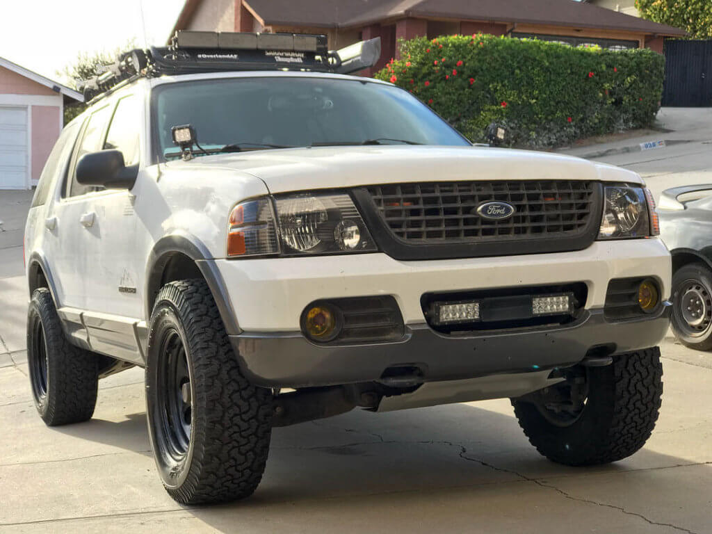 Ford Explorer 285 65 17 offroad wheels