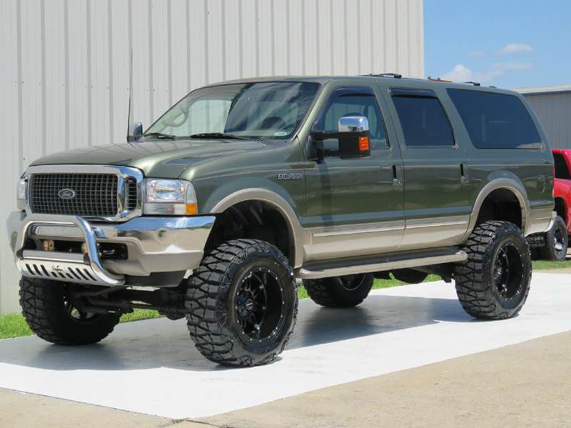 Lifted Ford Excursion on 37s