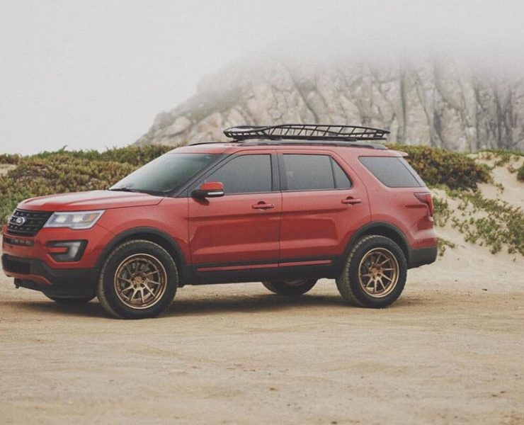 ford explorer 33 inch tires - 4th generation