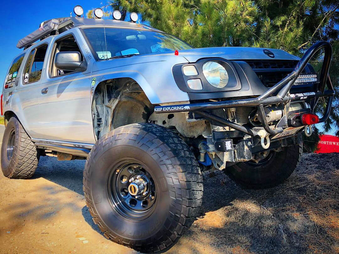 Nissan Xterra 35 inch wheels and offroad tires