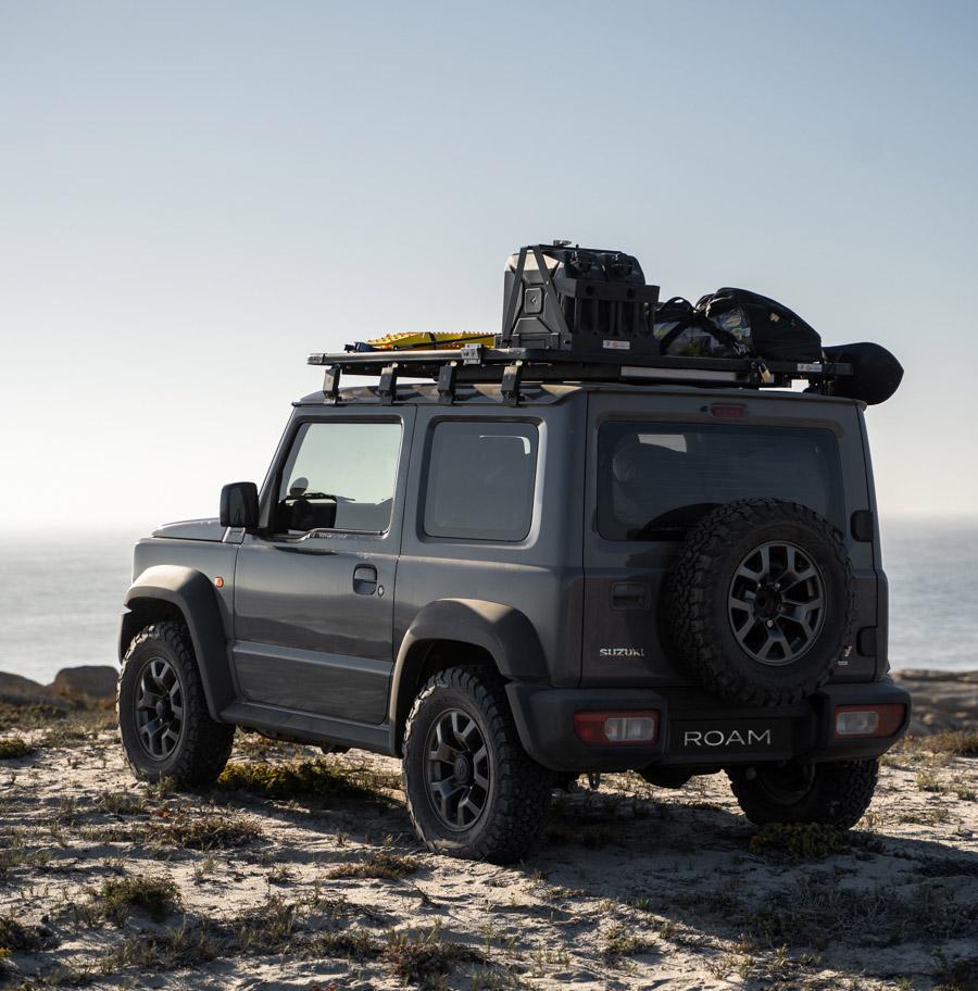2018 Suzuki Jimny with overland roof rack