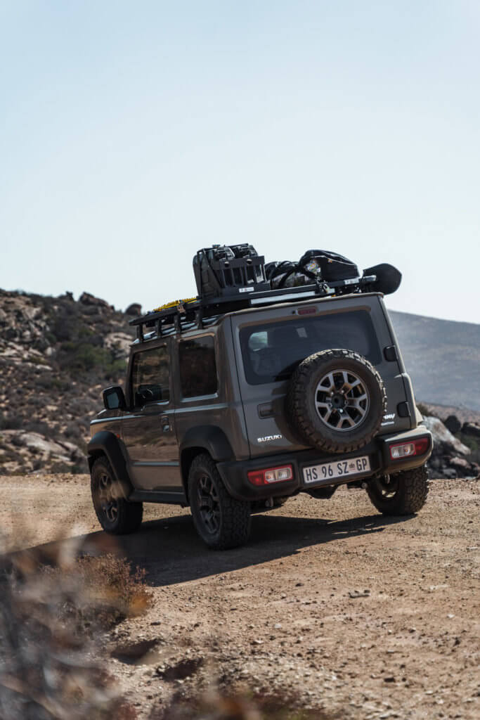 Suzuki Jimny offroading in South Africa