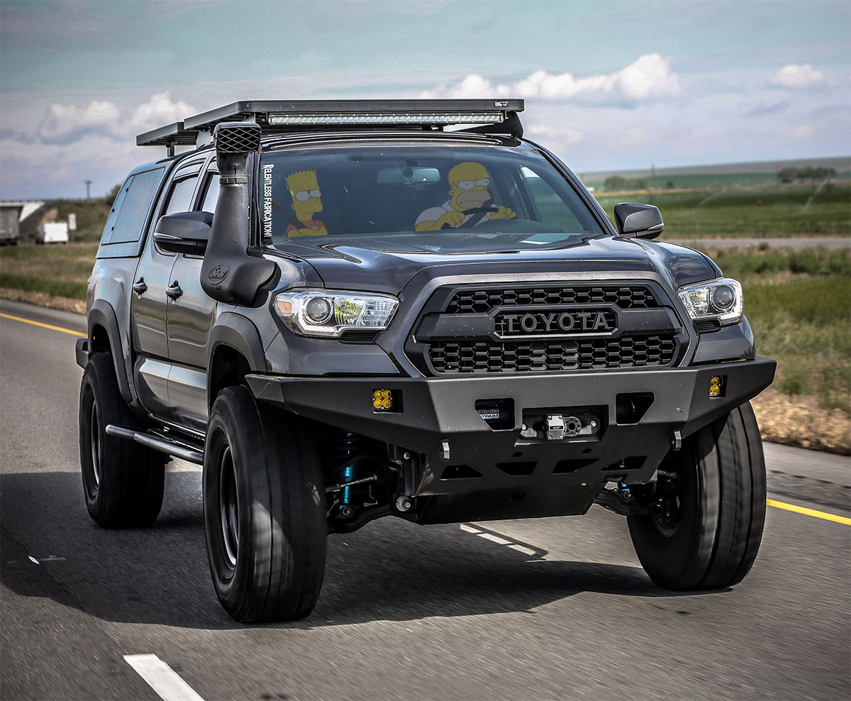 Toyota Tacoma Overland Build With a lift and Camper Shell