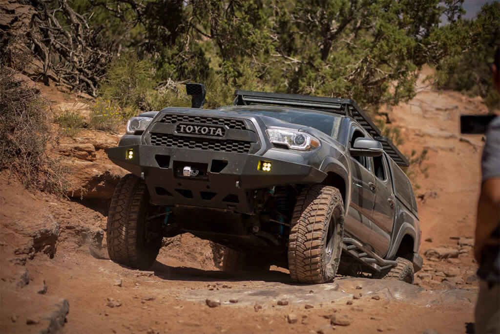 Toyota Tacoma TRD 2016 offroading in Moab Utah