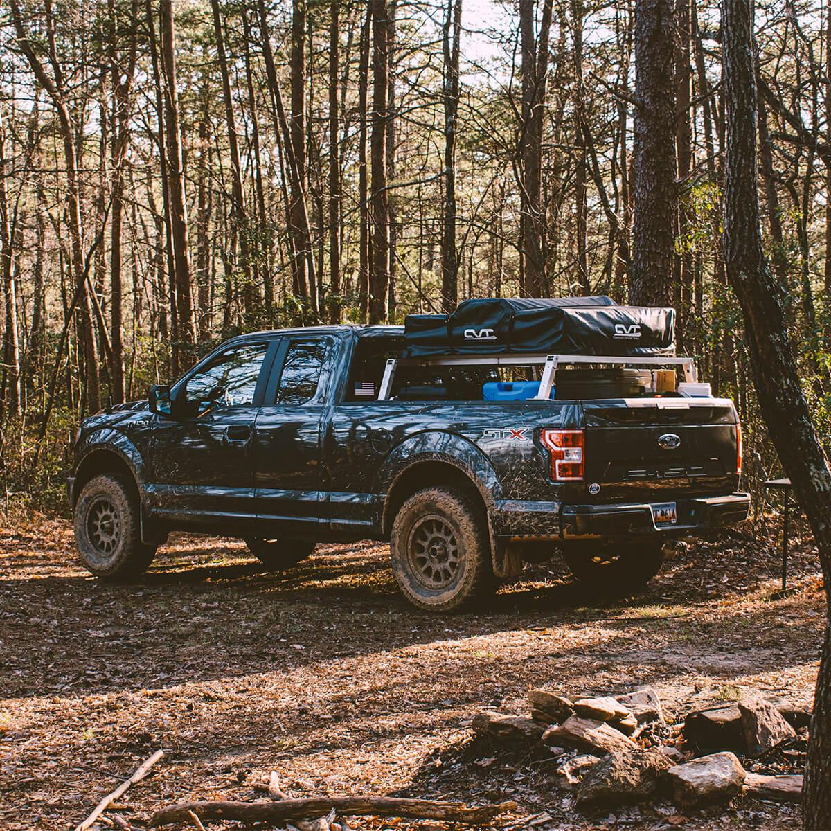 Ford F150 DIY bedrack