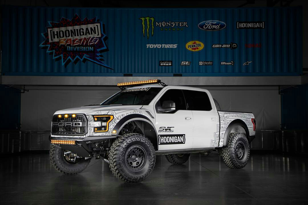 2019 Ford Raptor Built for Ken Block by SVC Offroad