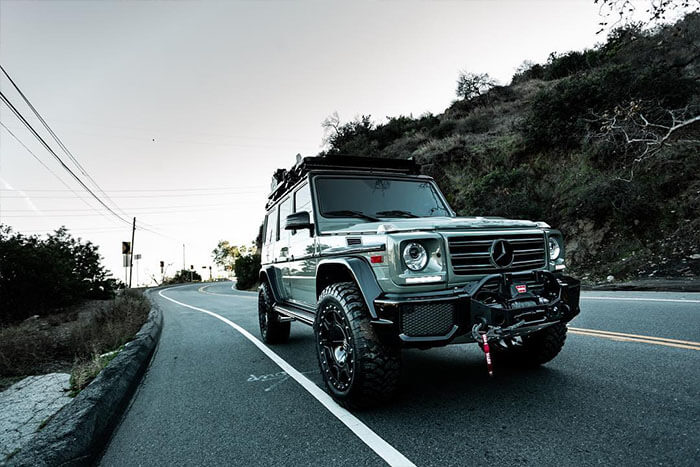 Picture Gallery: Mercedes G-Wagon With Tasteful Off-road Mods