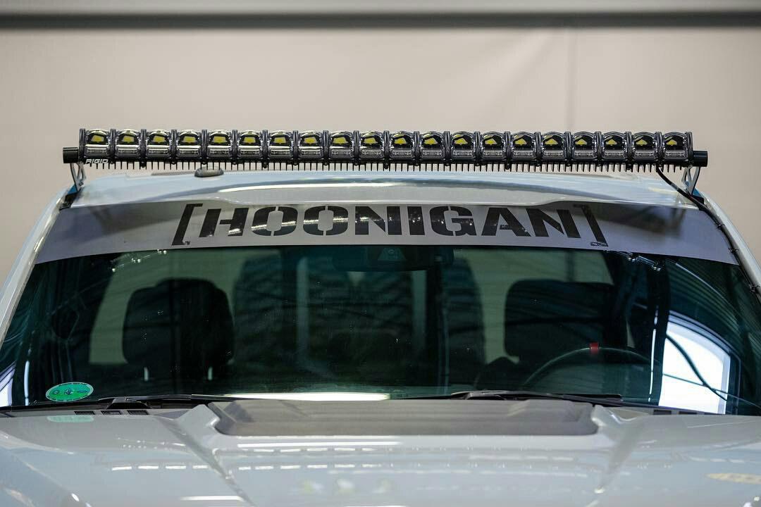 Rigidindustries roof mount LED lightbar for ford F150 Raptor