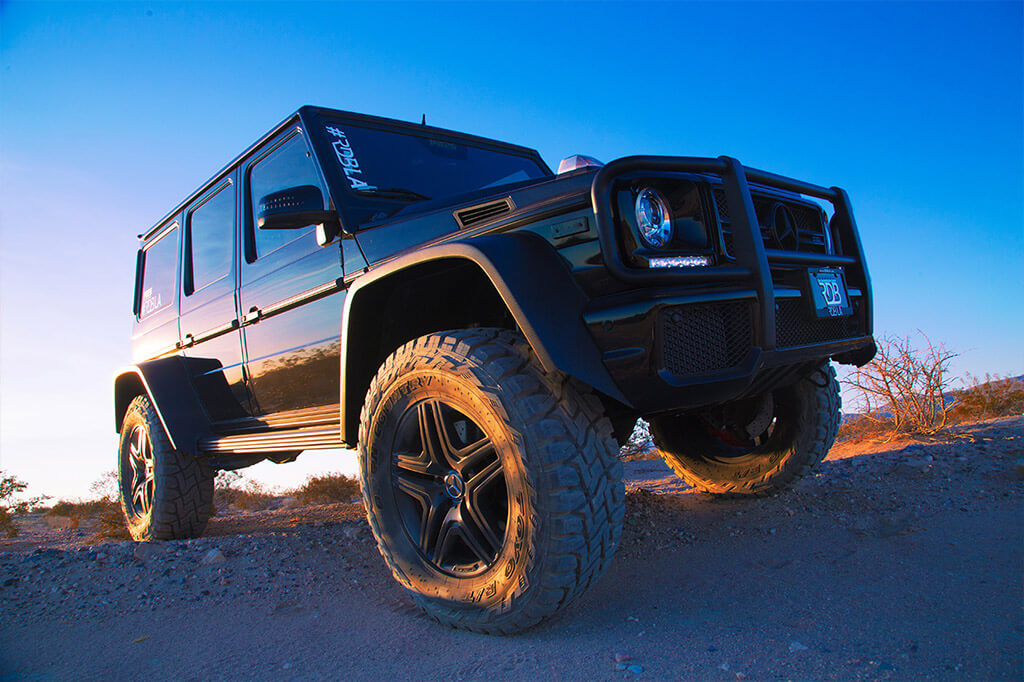 G Class offroad tire size 37s