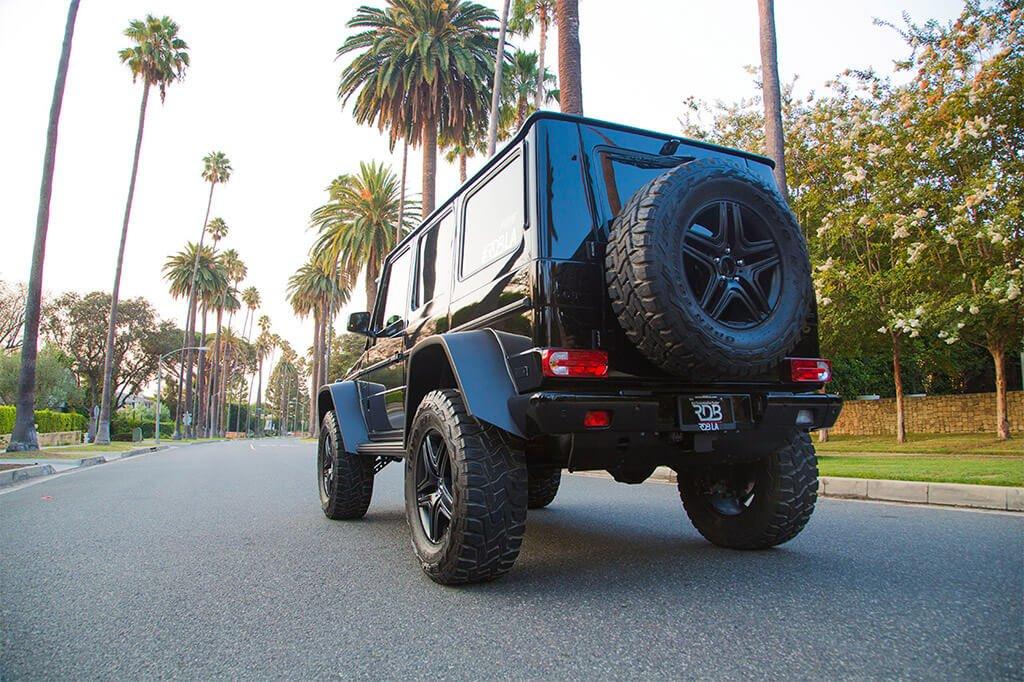 Lifted Mercedes Gwagon Hollywood LA California
