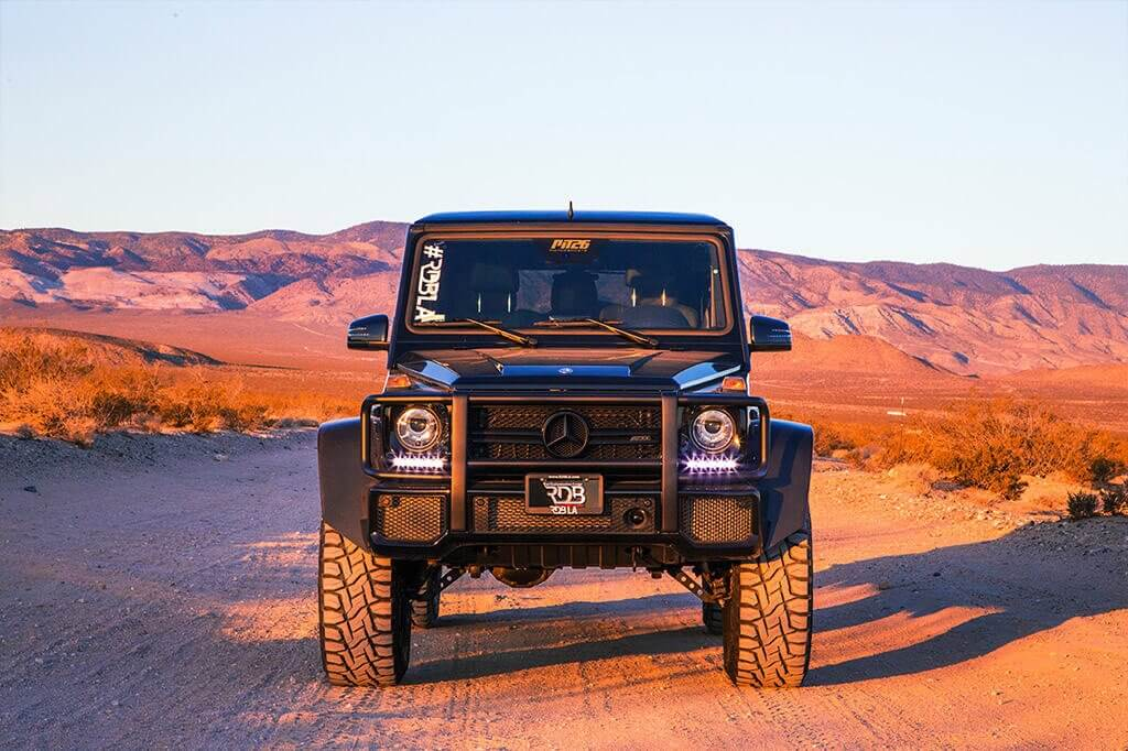 Mercedes G Class offroad by Pit 26 Motorsports