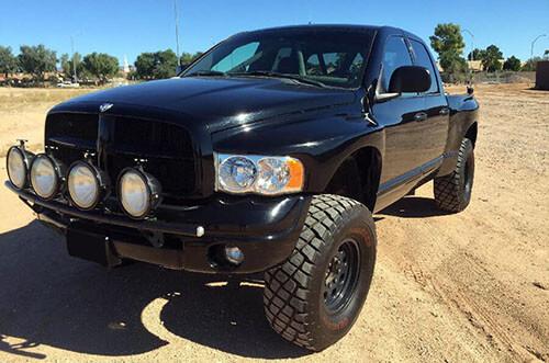 Dodge ram prerunner black for sale