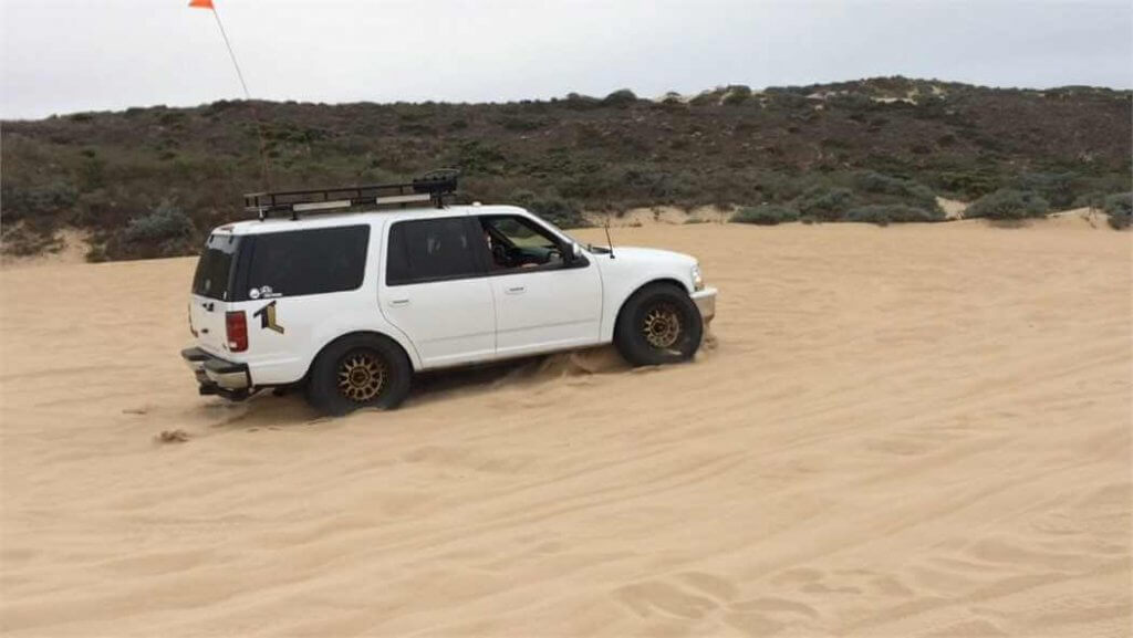 Fprd Expedition prerunner bottom out