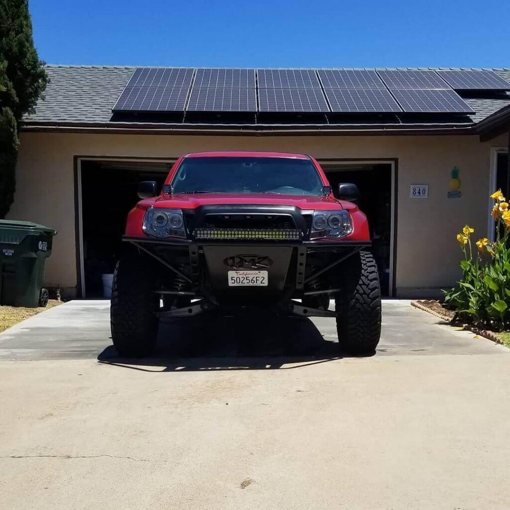 Toyota tacoma low profile prerunner bumper