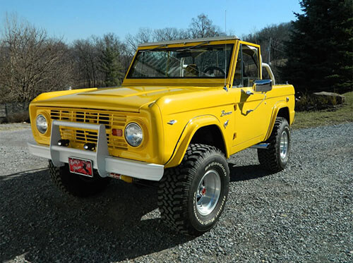 ford bronco 1969 for sale