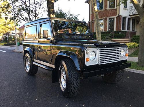 land rover defender 90 lhd for sale