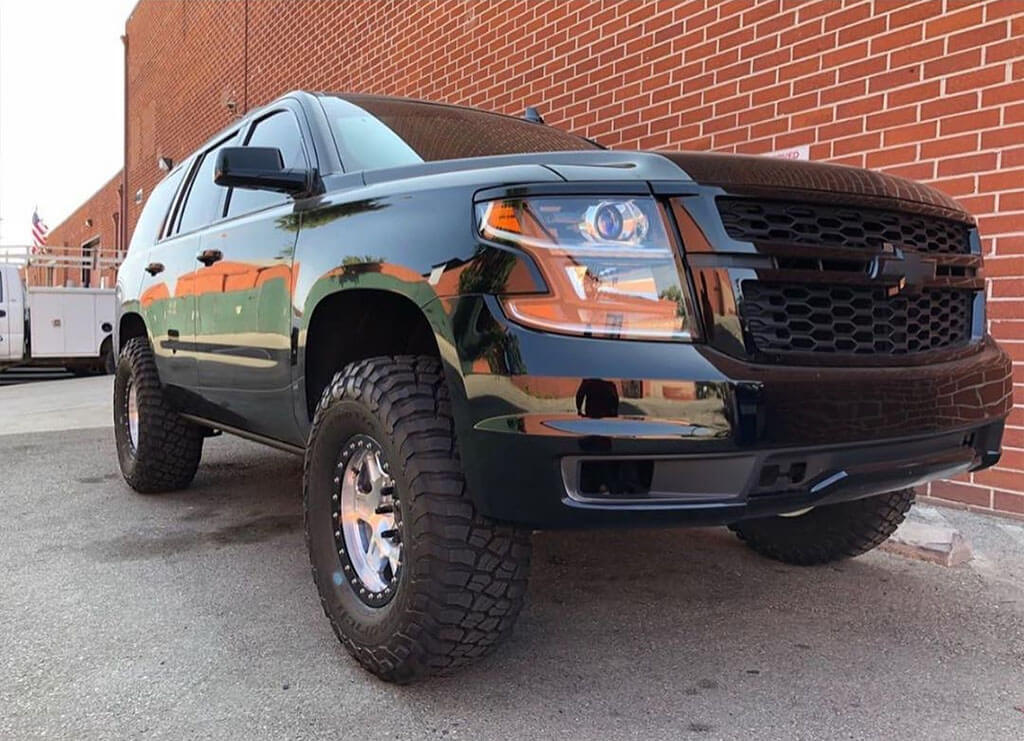 lifted 2015 Chevy Tahoe LTZ 2WD Desert truck for sale