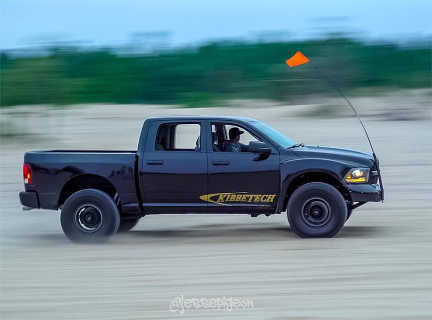 Dodge ram desert truck