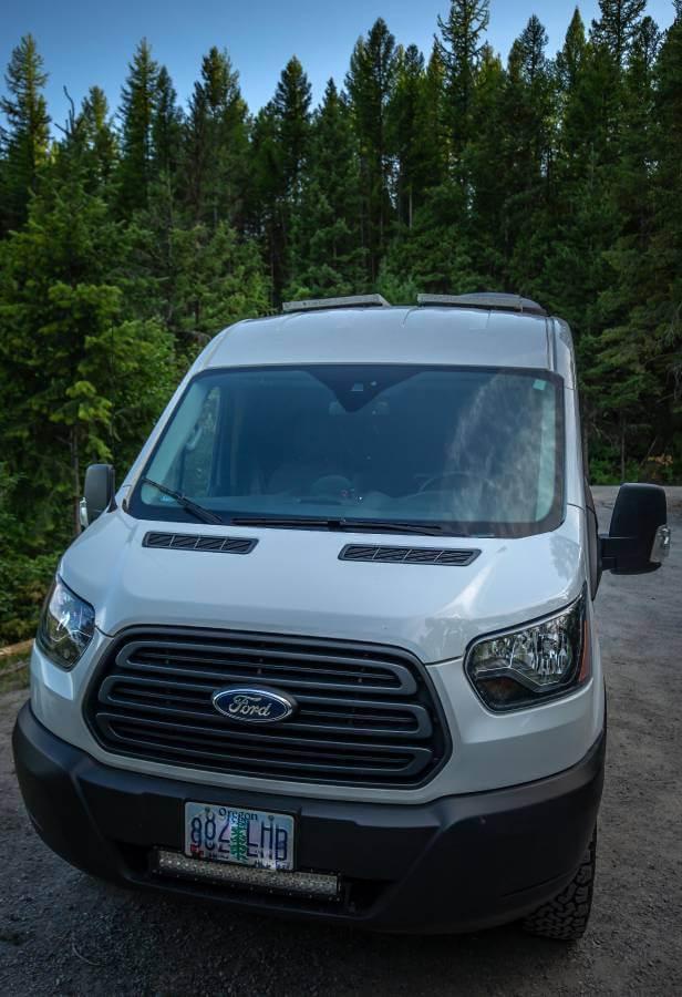 Ford Transit Cameper Van