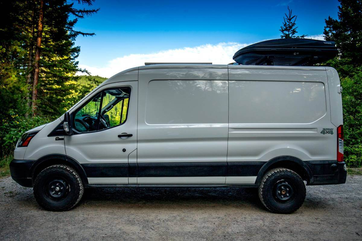 Quigley 4x4 Ford Transit Overland Van for Sale