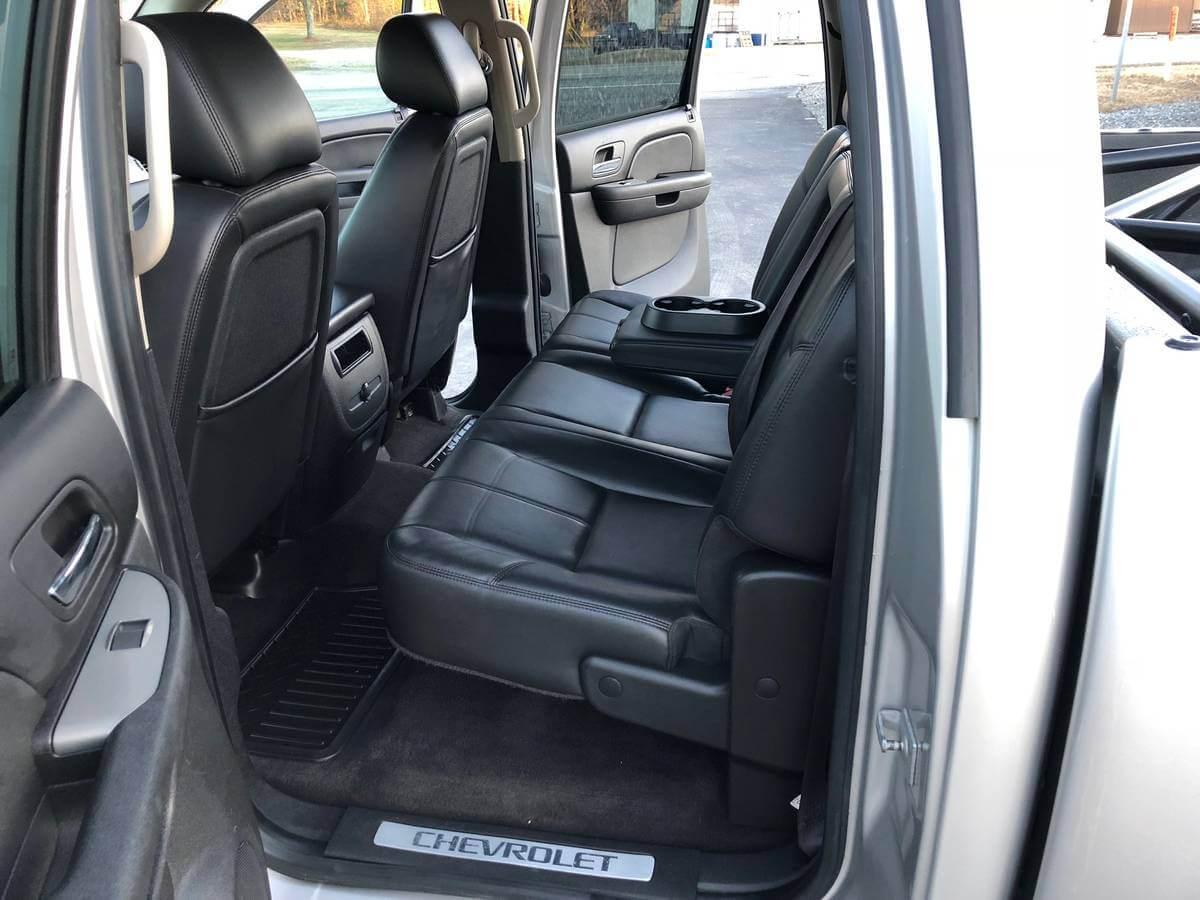 rear jump seats