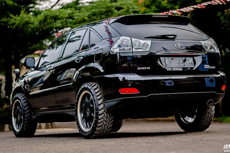 lifted lexus rx 300 off road sm
