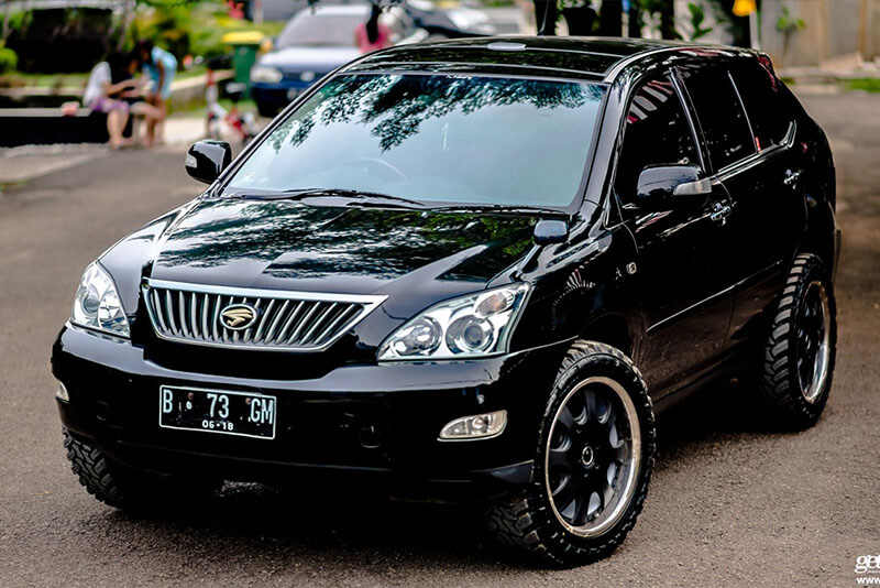 lifted lexus rx 330 off road sm