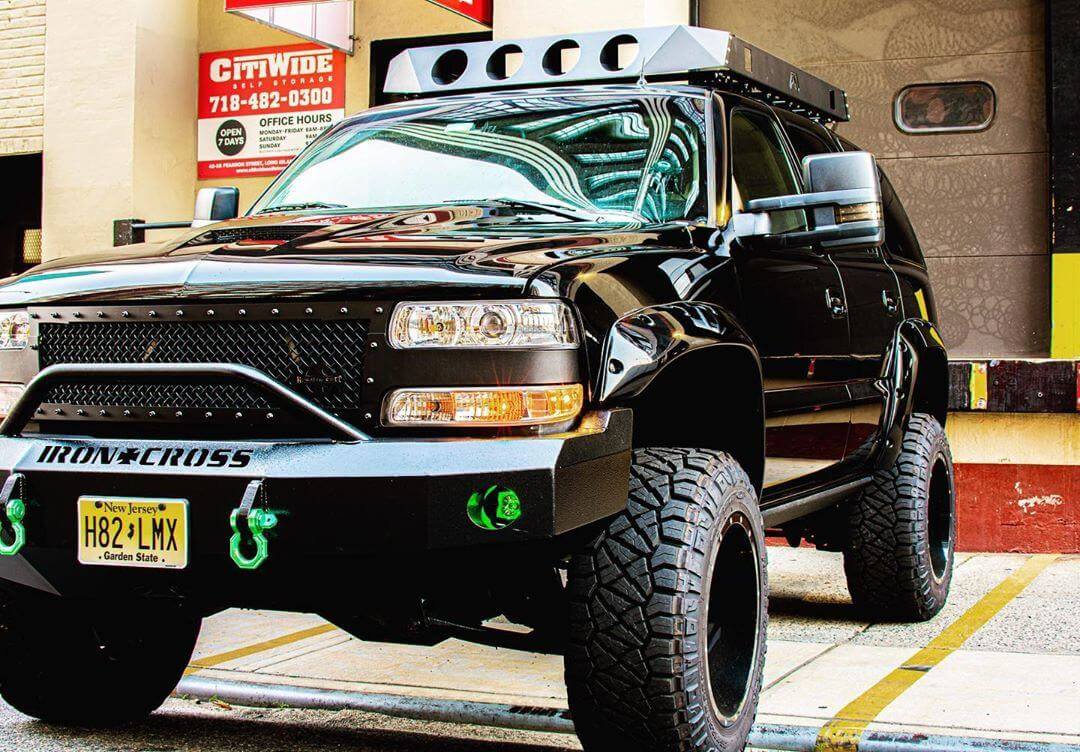 Modified lifted chevy tahoe off road mods and accessories